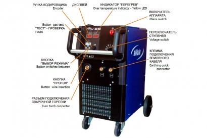 Сварочный полуавтомат ALF-400