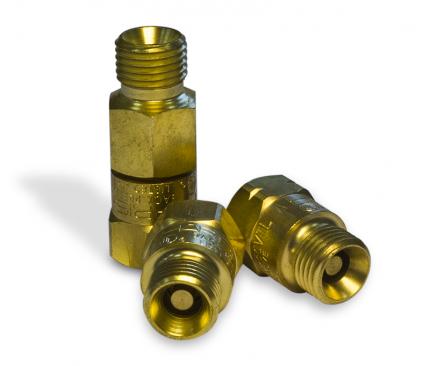 Обратные клапаны для механизированных резаков