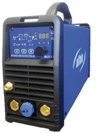 Установка аргонодуговой сварки TIG инвертор PEGAS 200 AC/DC PULSE Smart (Alfa In, Чехия)