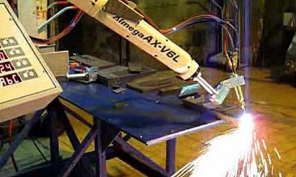 Робот газовой резки