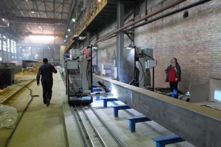 Машины для сварки балок (автоматическая сварка)