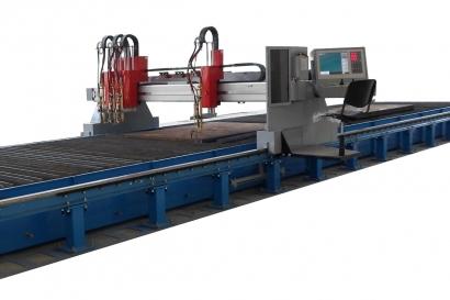 Промышленная машина «Кристалл» с 4-мя газовыми резаками